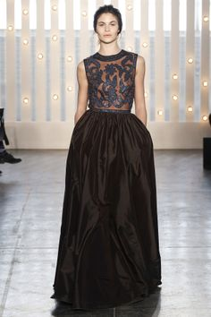 Jenny Packham fashion collection, autumn/winter 2014