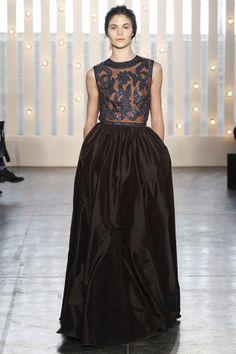 Jenny Packham fashion collection, autumn/winter 2014