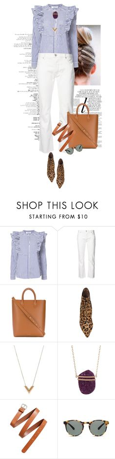"""""""Sin título #1702"""" by solespejismo on Polyvore featuring moda, Whiteley, Anine Bing, Nili Lotan, Mansur Gavriel, Tabitha Simmons, Louis Vuitton, Vince Camuto, H&M y Finlay & Co."""