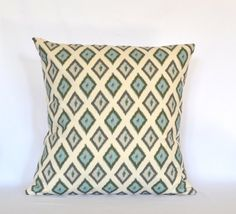 Pillows decorative pillow designer pillow throw pillow accent pillow 18x18 inches cushion cover  $17/each.  2 of these will round out the couch.