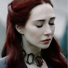 Melisandre - that hair color