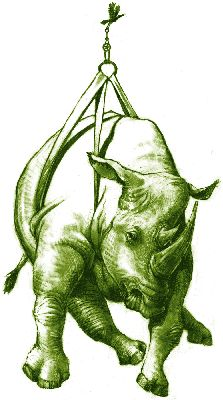 Flying Green Rhino, demonstration of an over unity device.by Kevn Lambson of PES Network, Inc..
