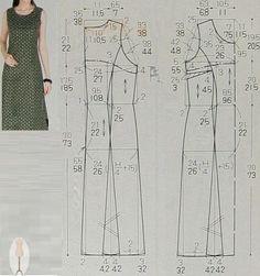 Pattern cutting and making up Dress Making Patterns, Easy Sewing Patterns, Clothing Patterns, Sewing Clothes, Diy Clothes, Clothes For Women, Dress Sewing, Dress Tutorials, Sewing Tutorials