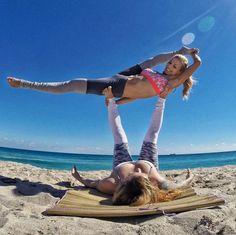 85 best group yoga poses images  yoga poses yoga