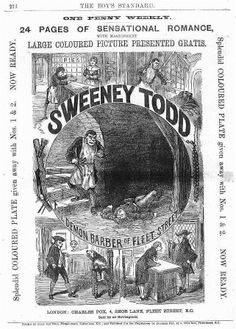 victorian penny dreadfuls | wrapper from an 1870s penny dreadful magazine a later version of the ...