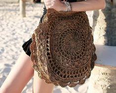 Vintage Bohemian Big Circle Straw Bags for Women Boho Fashion, Fashion Show, Vintage Fashion, Fashion Trends, Straw Handbags, Vintage Bohemian, Vintage Bags, Lace Shorts, Boho Chic