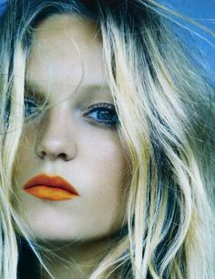 How To: Wear Orange (for lips and eyes). Color of the year...