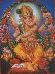 GANESH the destroyer of vanity, selfishness, pride and the remover of obstacles. He also is the symbol of abundance since there is nothing stopping you between you and your ideal.