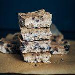 Raw Cookie Dough Slice   Well and Full   #raw #vegan #recipe
