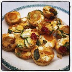 Rachel Khoo: Mini tomato and feta frittatas