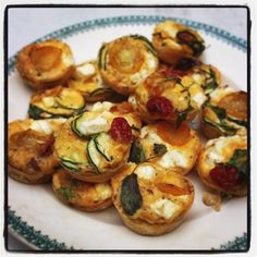 Rachel Khoo: Mini tomato and feta frittatas