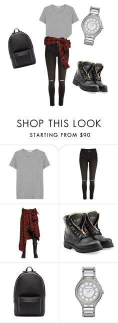 """""""Classic bts Outfit"""" by maria1c ❤ liked on Polyvore featuring ADAM, River Island, Faith Connexion, Balmain, PB 0110 and Michael Kors"""
