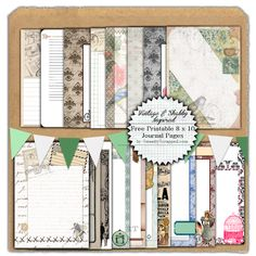 19 Free Printable Journal Pages: project life / Paper Journal, Journal Cards, Junk Journal, Bullet Journal, Free Digital Scrapbooking, Project Life, Mini Albums, Calendar Pages, Printable Paper