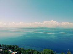 Vistas del lago Seván en Armenia