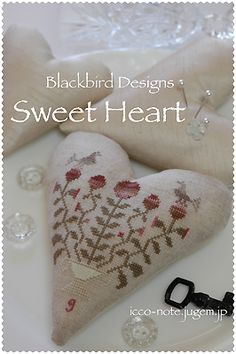 Blackbird Designs -Heart.   REALLY need the exact name of the pattern because I really want to stitch this!