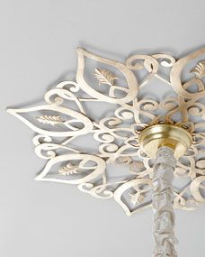 Star Ceiling Medallion, gorgeous, on Horchow.com