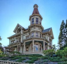 The Haunted Queen Anne Victorian Flavel House - Astoria, Oregon  - also has a museum onsite