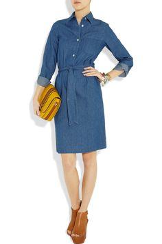 A.P.C denim shirt dress