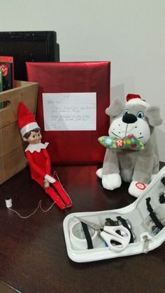Have a broken toy?  your elf on the shelf can fix it! 2015