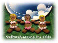 Gingerbread Bikini Babes
