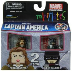 Minimates Marvel Comics Series 40 Captain America - Peggy Carter and Hydra Soldier 2 pack Mini Figure Diamond Select http://www.amazon.com/dp/B0053Y1C96/ref=cm_sw_r_pi_dp_Nx9Tvb0F246R8