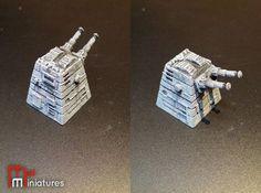 Turbolaser Turret 3.0 3d printed