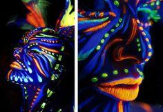 Los colores para la pintura corporal son sólidos para pintar con pincel, brocha, esponja o dedos mojados, pero después de diluido se puede usar con el aerógrafo. Los colores se diluyen con agua y con también con agua se quitan.http://aerografia-fengda.es/es_ES/c/Pintura-corporal-Fluorescent-Colors/195