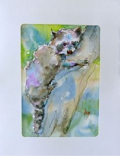watercolour painting by Nora MacPhail