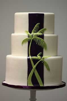 Perfect cake for a tropical destination wedding.   Wedding Cakes Gallery « Sweet & Saucy Shop Sweet & Saucy Shop