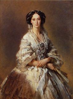 The Empress Maria Alexandrovna of Russia :: Franz Xavier Winterhalter 1857