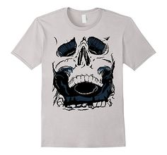 Amazon.com: Epic Skull Designer Shirt: Clothing Cool T Shirts, Shirt Designs, Skull, Amazon, Clothing, Mens Tops, Fashion, Outfits, Moda