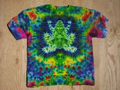 Leap Frog Tie Dye Size large by tiedyetodd on Etsy, $30.00