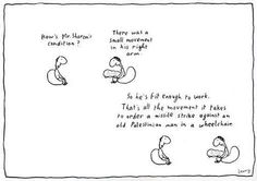 an analysis of michael leunig Michael leunig (born 2 june 1945), typically referred to as leunig (his signature on his cartoons), is an australian cartoonist, poet and cultural commentator his best known works include.