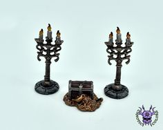 Terrain & Scenery: Treasure Pile & Candleabra (by Reaper Miniatures) #ChaoticColors #commissionpainting #painting #miniatures #paintingminiatures #wargaming #Miniaturepainting #Tabletopgames #Wargaming #Scalemodel #Miniatures #art #creative #hobby #dungeonsanddragons #dnd #dungeonsaga #frostgrave #rpg #roleplay #terrain #scenery #paintingwarhammer  #warhammer #wh #gamesworkshop #gw #ageofsigmar #aos #sigmar #whfb #fantasy #warhammerfantasy #Kingsofwar #kow #reaper #Treasure #Candleabra Warhammer Fantasy, Warhammer 40k, Dungeons And Dragons, Age Of Sigmar, Reaper Miniatures, D Craft, Tabletop Games, Decoration, Furniture Ideas