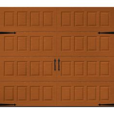Martin Garage Doors Wood Collection Riverstone 9 Ft X 7