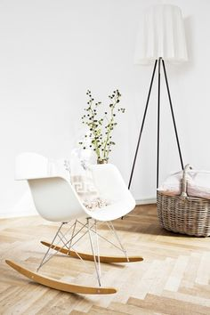 Someone please give me this chair!  Finally a rocker I would love in my place.