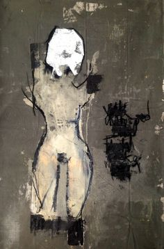 Khara Oxier--I love black and white. The figure is great-seductive and dark all at the same time.