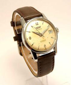 Vintage Chronometre Tissot Visodate Automatic '50 in Biżuteria i zegarki, Zegarki klasycznych marek, Pozostałe | eBay