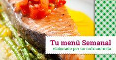 #Menúsemanal Combate el calor del verano con nuestro #menúsemanal recetas frescas. Un plan semanal en el que ensaladas, sopas y cremas frías son protagonistas. ¡Buen provecho!