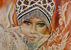 Edna Kannan, Porcelain Portrait in the World | LAS OBRAS 2013