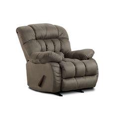Badger Overstuffed Gray Microfiber Roc | Furniture and Mattress Outlet