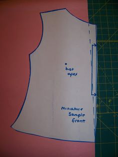 Phat Chick Designs: Fitting Tutorial: Removing Neck Gape - Method 1 for small amount of gape