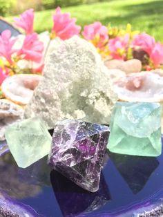 Fluorite Octahedron by DivineCrystallinity on Etsy
