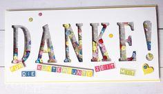 Ein Abschied ist immer auch ein Neuanfang. Besonders spannend für die Kleinen ABC-Schützen. Eine Karte als Dankeschön!