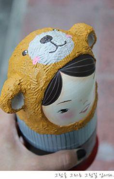 wooden painting nesting dolls   http://blog.naver.com/tjsks140