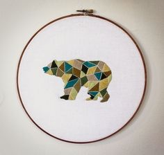Embroidered Bear.