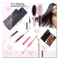 """Free Shipping"" by ilona-828 ❤ liked on Polyvore featuring косметика, Beauty, polyvoreeditorial и tomtop"