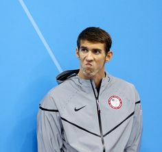 nice expression phelps