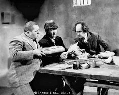 SAVED BY THE BELLE (Episode 40-1939) The Stooges are fur salesman trying to sell coats in a Central American country prone to frequent earthquakes. Desperate to raise the funds to pay for their hotel bill, the boys start succeeding by selling pillows as shock absorbers.