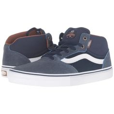 67b2021794 VANS Gilbert Crockett Pro Mid - (Xtuff) Dress Blues  Vans